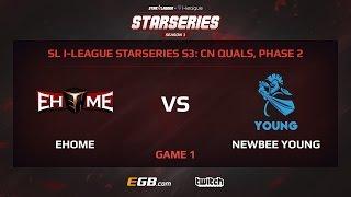 EHOME vs Newbee Young, Game 1, SL i-League StarSeries Season 3, China
