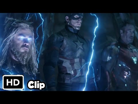 Thor, Tony, Steve Vs Thanos (Hindi) - Avengers Endgame In Hindi HD/4K Clip