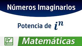 Como expresar potencias de números imaginarios con el teorema de la división euclidiana, elevar i la n potencia.  Redes Sociales: ◢ Twitter @UECenter: http://www.twitter.com/UECenter◢ Página de Facebook:http://www.facebook.com/UleadEstudioCenter◢ Página web: http://www.DAIZcorp.com◉ Video también disponible en: http://www.DAIZcorp.com/________________________UECenter de DAIZcorp.