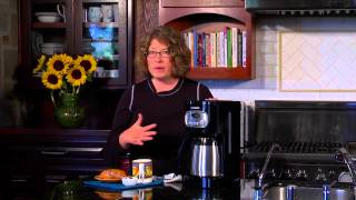 10 Cup Programmable Thermal Coffeemaker Demo Video Icon
