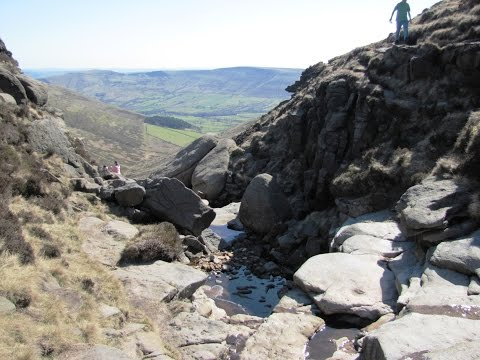 Kinder Scout   Peak District Country Walk   Edale Kinder Scout Jacobs Ladder round | peak district  Walks