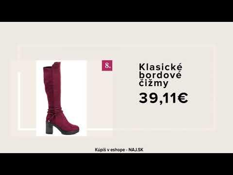 NAJ.SK - Kolekcia obuvi jeseň/zima 2017