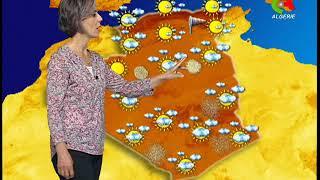 Retrouvez la  météo du lundi 20 mai 2019 de Canal Algérie