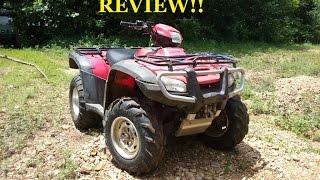 9. REAL Review!! Honda Rubicon ATV