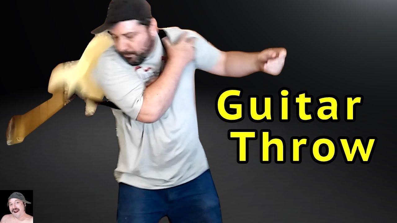 Yngwie Malmsteen Guitar Throw