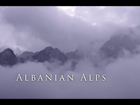 Wandering through the Accursed Mountains of Albania (видео)