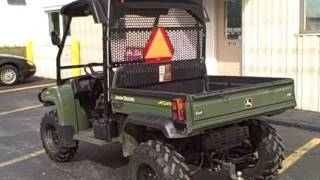 6. John Deere Gator XUV 4X4 620i for sale