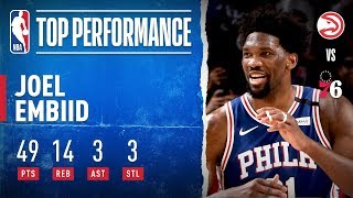 Embiid Has CAREER NIGHT With 49 PTS! by NBA