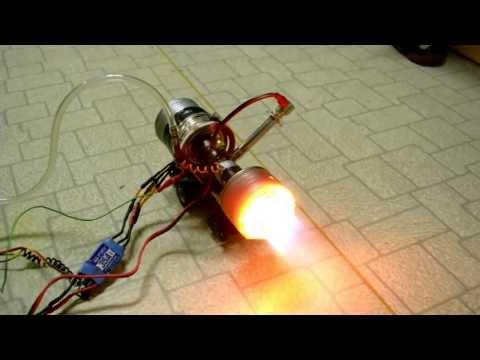 自製小型噴射引擎!可以上太空了!