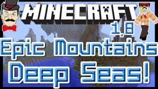 Minecraft EPIC MOUNTAINS&Deep Seas Mod ! Amazing Worlds !