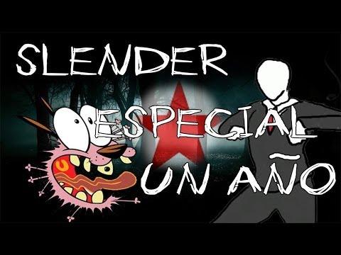¡ESPECIAL 1 AÑO EN YOUTUBE! - Terror con Slenderman - Gameplay comentado en vivo