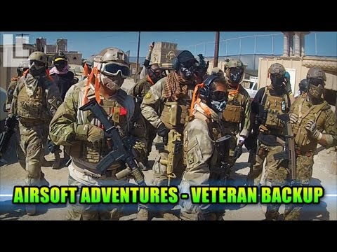 Airsoft Adventures - Veteran Backup! (Airsoft SC Village Viper Gameplay/Commentary)