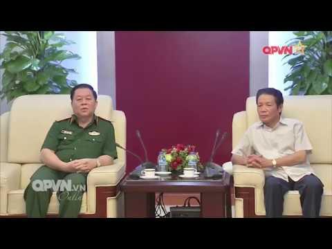 Lãnh đạo Tổng cục Chính trị chúc mừng Ngày Báo chí Cách mạng Việt Nam