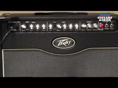 Peavey - Get the Peavey ValveKing II here: http://www.sweetwater.com/store/detail/ValveKIIC20/ Mitch Gallagher demonstrates the Peavey ValveKing II tube combo amplifi...
