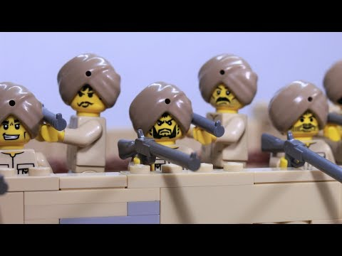 Lego battle of Saragarhi - stop motion