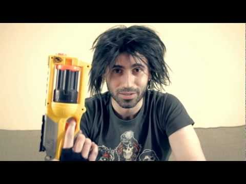 nerf mods - Twitter: http://www.Twitter.com/RockerCyborg How to mod a Nerf gun into a lethal weapon in 3 easy steps. Warning: This Nerf gun mod can result in personal ha...