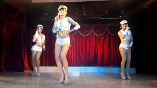 "Paris Follies Cabaret Show ""Candyman"" August 2014"
