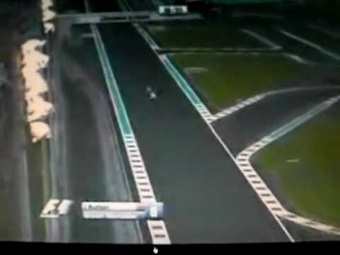 Kamui Kobayashi adelanta a  Jenson Button en Abu Dhabi 2009