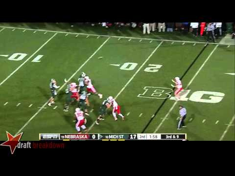 Connor Cook vs Nebraska 2014 video.