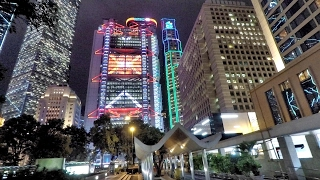 A night walk around Central, Hong Kong 香港