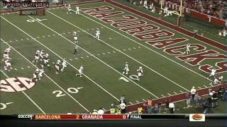 Logan Ryan vs Arkansas (2012)
