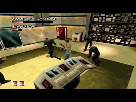 Fighting Force 64 (Nintendo 64) Gameplay 1/2