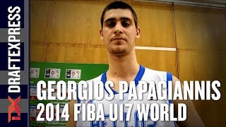 2014 Giorgios Papagiannis Interview - DraftExpress - FIBA U17 World Championships