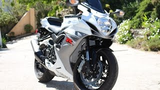 10. 2015 GSXR 600 Mods and First Impressions