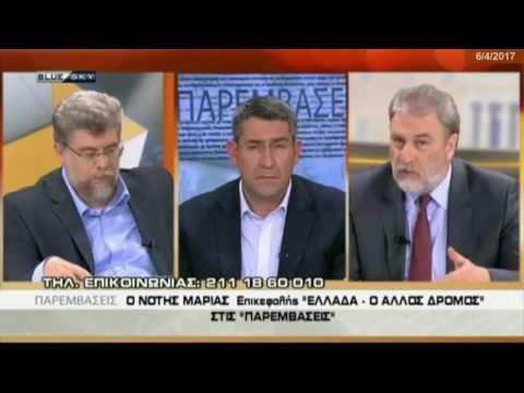 Ο Ν.Μαριάς στον Άκη Παυλόπουλο για τις πολιτικές θέσεις του Κόμματος «ΕΛΛΑΔΑ - Ο ΑΛΛΟΣ ΔΡΟΜΟΣ».