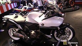 8. 2015 Honda VFR 1200F DCT - Walkaround - 2014 EICMA Milan Motorcycle Exhibition