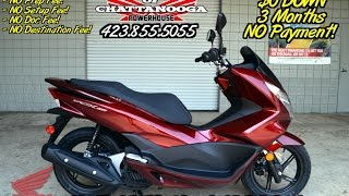 4. 2016 Honda PCX150 Scooter Review of Specs - SALE Prices @ Honda of Chattanooga TN Dealer