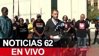 Activistas en contra de un programa de la policía de Los Ángeles. – Noticias 62. - Thumbnail