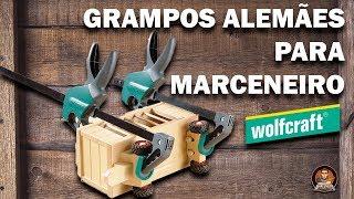 Como usar o Grampo para Marceneiro Monomanual - Wolfcraft