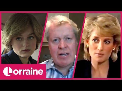 Earl Spencer on The Crown's Portrayal of His Sister Diana & Meghan & Harry's Miscarriage | Lorraine