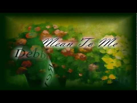Tekst piosenki Debbie Reynolds - Mean to Me po polsku