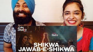 Video Indian Reaction on Shikwa/Jawab-e-Shikwa, Coke Studio Season 11 | PunjabiReel TV download in MP3, 3GP, MP4, WEBM, AVI, FLV January 2017