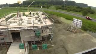 XSARUS HQ construction timelapse