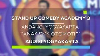 Video Stand Up Comedy Academy 3 : Andang, Yogyakarta - Anak SMK Otomotif MP3, 3GP, MP4, WEBM, AVI, FLV Februari 2018