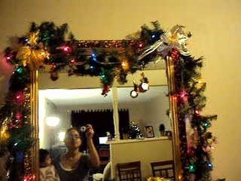 Guirnaldas de navidad videos videos relacionados con - Decoracion de guirnaldas ...
