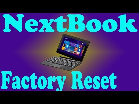 NextBook NXW10QC32G Password Clear Factory Reset by TimsComputerFix.net