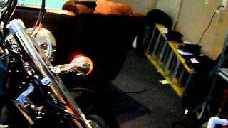 10. 2009 Honda Shadow Aero 750 oil change