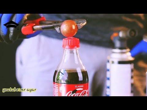 1000 derece sıcak top vs coca cola