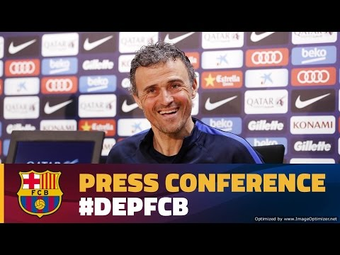 LIVE -Luis Enrique's press conference