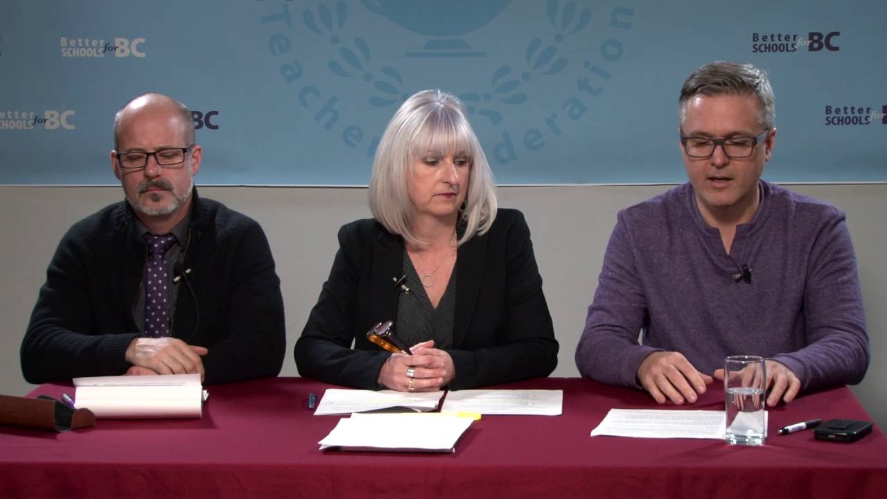 BCTF Table Officers update BC teachers on education reporting changes