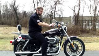 6. YCH 2006 Harley-Davidson Sportster 1200 Low