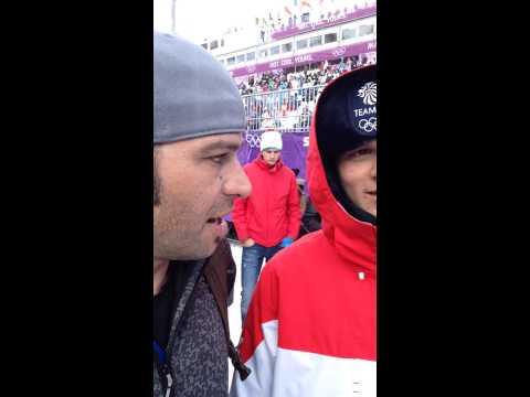 Interview w/Jamie Nicholls of Team GB Slopestyle Team @ Sochi 2014 Olympics, Rosa Khutor