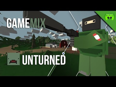 UNTURNED - GameMix Folge 2 «»  Let's Play Unturned | Deutsch Full-HD