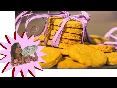 biscotti con farina di ceci profumati alla cannella e limone 100% vegana