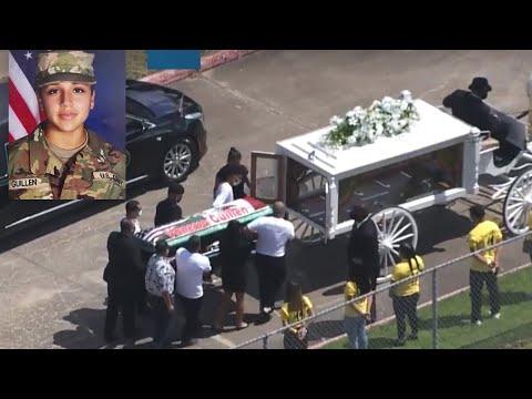 Remembering Vanessa Guillen: Video from public memorial