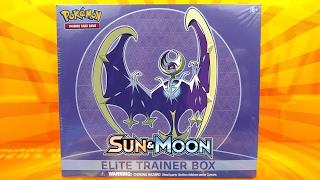Pokemon Cards - LUNALA POKEMON SUN & MOON ELITE TRAINER BOX OPENING BATTLE VS STEALTHLESS!! by The Pokémon Evolutionaries